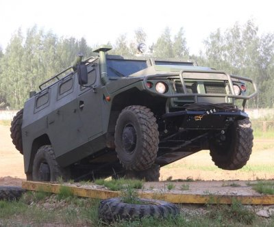 VPK announces remote-controlled Tigr armored vehicle: Report