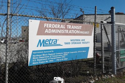 Glaring typo on Chicago Metra sign goes viral after Reddit post