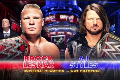 WWE Survivor Series: Brock Lesnar defeats AJ Styles, Team Raw is victorious