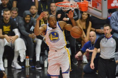 Golden State Warriors forward Andre Iguodala ruled out for Game 4