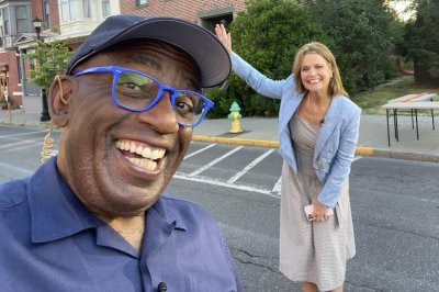 Savannah Guthrie, Al Roker reunite in person on 'Today'