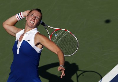 Parmentier posts upset at WTA Japan event