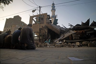 Playground, hospital hit as Gaza war escalates