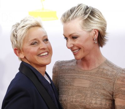 Ellen DeGeneres says she is 'happily married' to Portia de Rossi