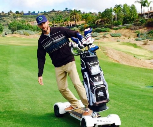California course offers golfers hoverboard-like 'GolfBoards'