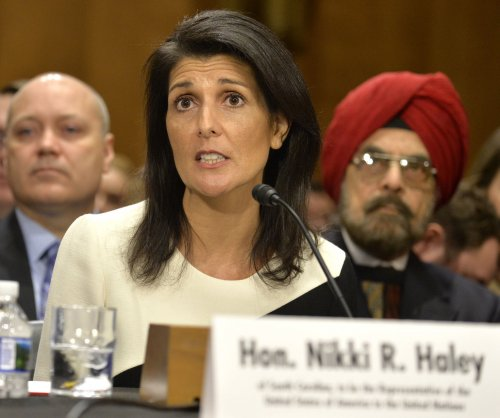 Nikki Haley criticizes U.N. resolution on Israel at confirmation hearing