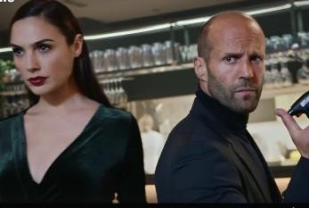 Gal Gadot and Jason Statham fight side by side in early Super Bowl ad