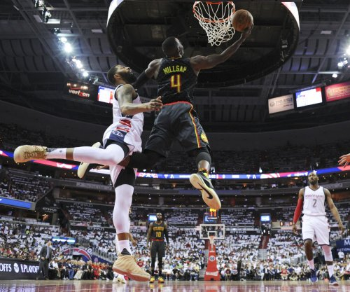 Atlanta Hawks handle Washington Wizards for first win in series