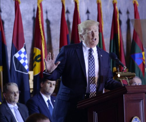 'Deeply moved' Trump commemorates Holocaust at Capitol