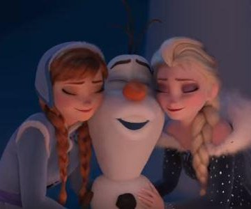Olaf and Sven learn about holiday traditions in 'Olaf's Frozen Adventure' trailer