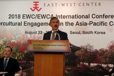 U.S. diplomats in Seoul tie Trump's Indo-Pacific strategy to immigration