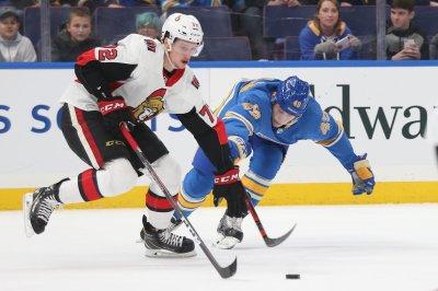 Ottawa Senators All-Star defenseman Thomas Chabot out with broken toe