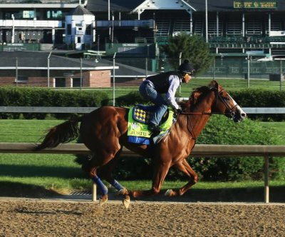 Tainted bedding cited as possible cause of Justify's positive drug test