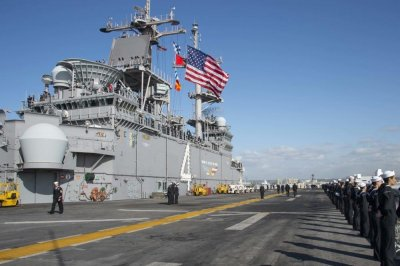 BAE awarded $2003.M to modernize USS Boxer