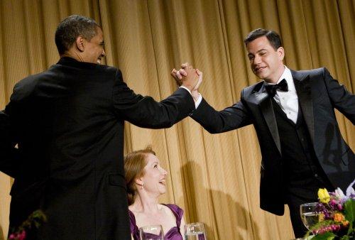 Obama gets off a few zingers
