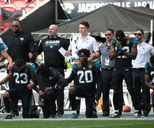 National Anthem: Jacksonville Jaguars will all kneel Sunday before stand for song