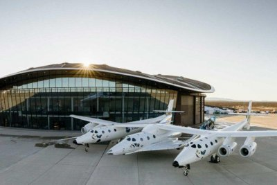 Virgin Galactic suspends N.M. spaceflight test over COVID-19 surge