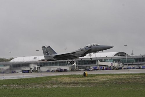 Boeing delivers its second F-15EX fighter plane