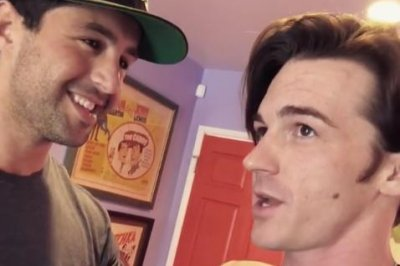 Drake Bell reunites with Josh Peck after baby news