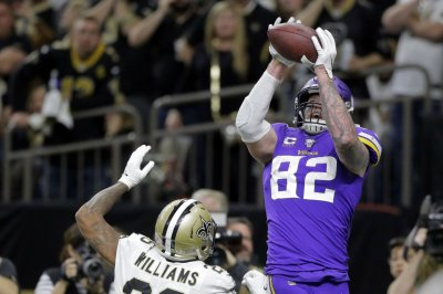 NFL playoffs: Minnesota Vikings stun New Orleans Saints in OT