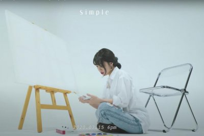 Apink's Jeong Eun-ji teases new song 'Simple is the Best'