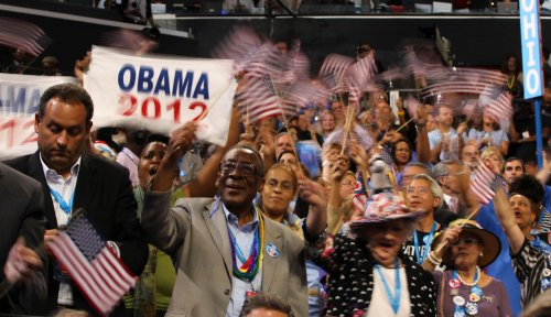 Obama set to give acceptance speech