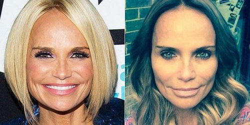 Kristin Chenoweth debuts long, brunette hair