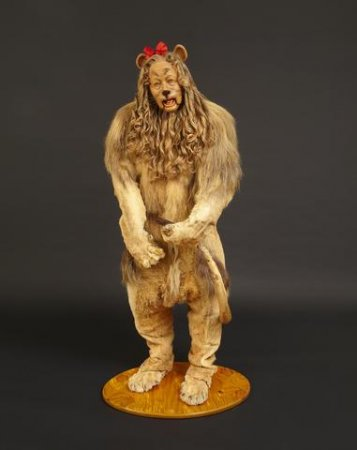 Cowardly Lion costume sells for $3M