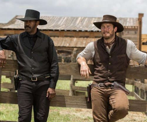 Denzel Washington, Chris Pratt saddle up in first images from 'Magnificent Seven'