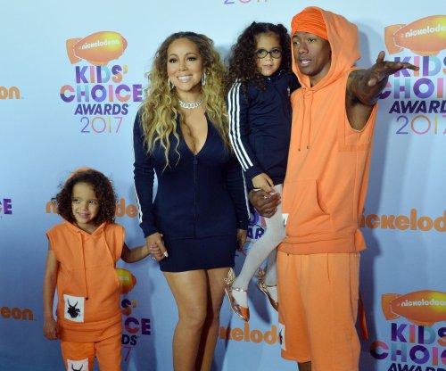 Mariah Carey, Nick Cannon bring their twins to Kids' Choice Awards