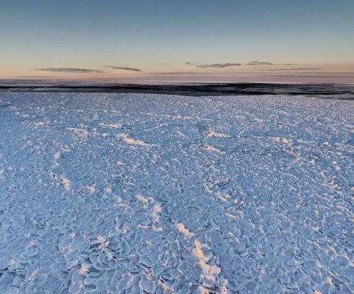 Scientists find rare 'dragon skin' ice in Antarctica