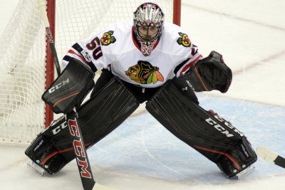Chicago Blackhawks place G Corey Crawford on injured reserve