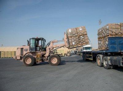 U.S. military sending food, water, medical supplies to Lebanon