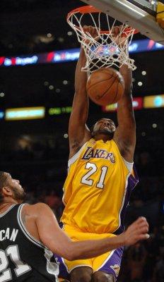 NBA: LA Lakers 89, San Antonio 85
