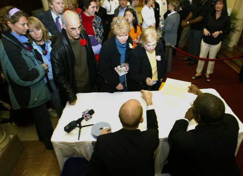 10 years after same-sex marriage became legal in Mass., Idaho couples wait on appeals court