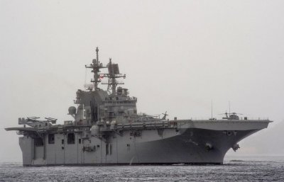USS America, an amphibious assault ship, set for commissioning