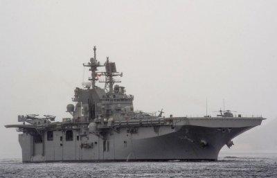 USS America, an amphibious assault ship, set for commissioning