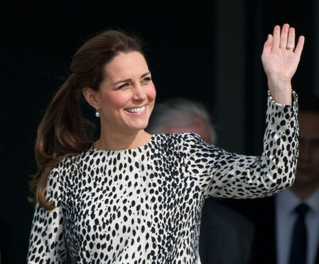 Kate Middleton reveals second baby is due in mid-to-late April