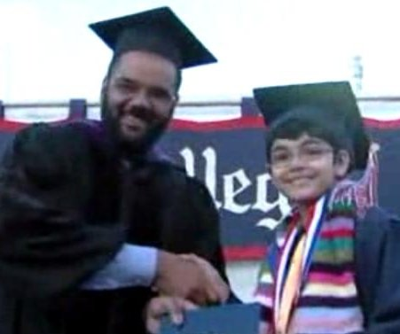 California 11-year-old graduates college with three degrees