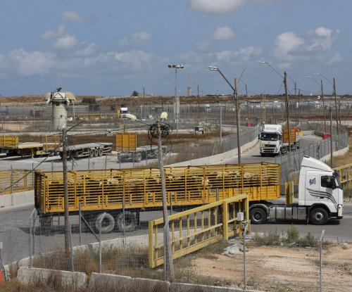 Israel begins building concrete wall on border with Gaza