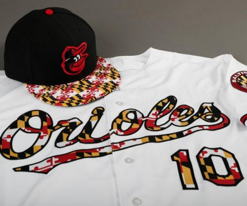Baltimore Orioles showing Maryland pride with Sunday uniforms