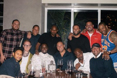 Miami Marlins: Diddy welcomes Derek Jeter to Miami with dinner