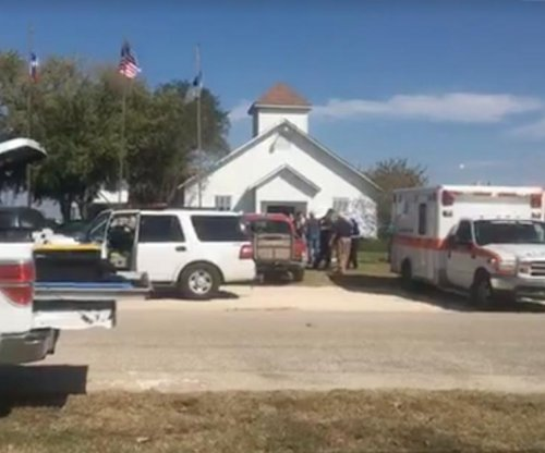 At least 26 killed as gunman opens fire in Texas church