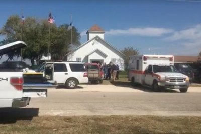At least 26 killed as gunman opens fire in Texas church