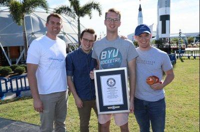 Team's Alka-Seltzer rocket breaks Guinness World Record