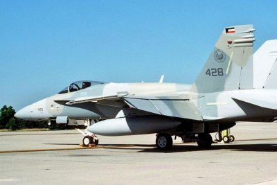 Harris awarded $43.6M for electronic jammers on Kuwaiti F/A-18s