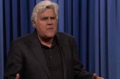 Jay Leno interrupts Jimmy Fallon's monologue, gives comedic rant