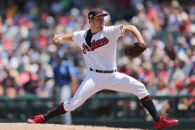 Indians ace Trevor Bauer gets season-high 12 strikeouts, beats Royals
