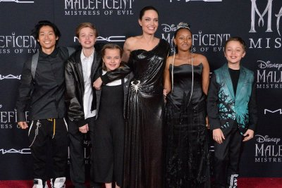 Angelina Jolie brings kids to 'Maleficent: Mistress of Evil' premiere