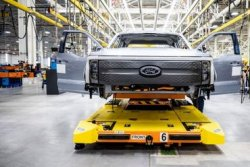 Ford to add 450 jobs in Michigan for F-150 Lightning production